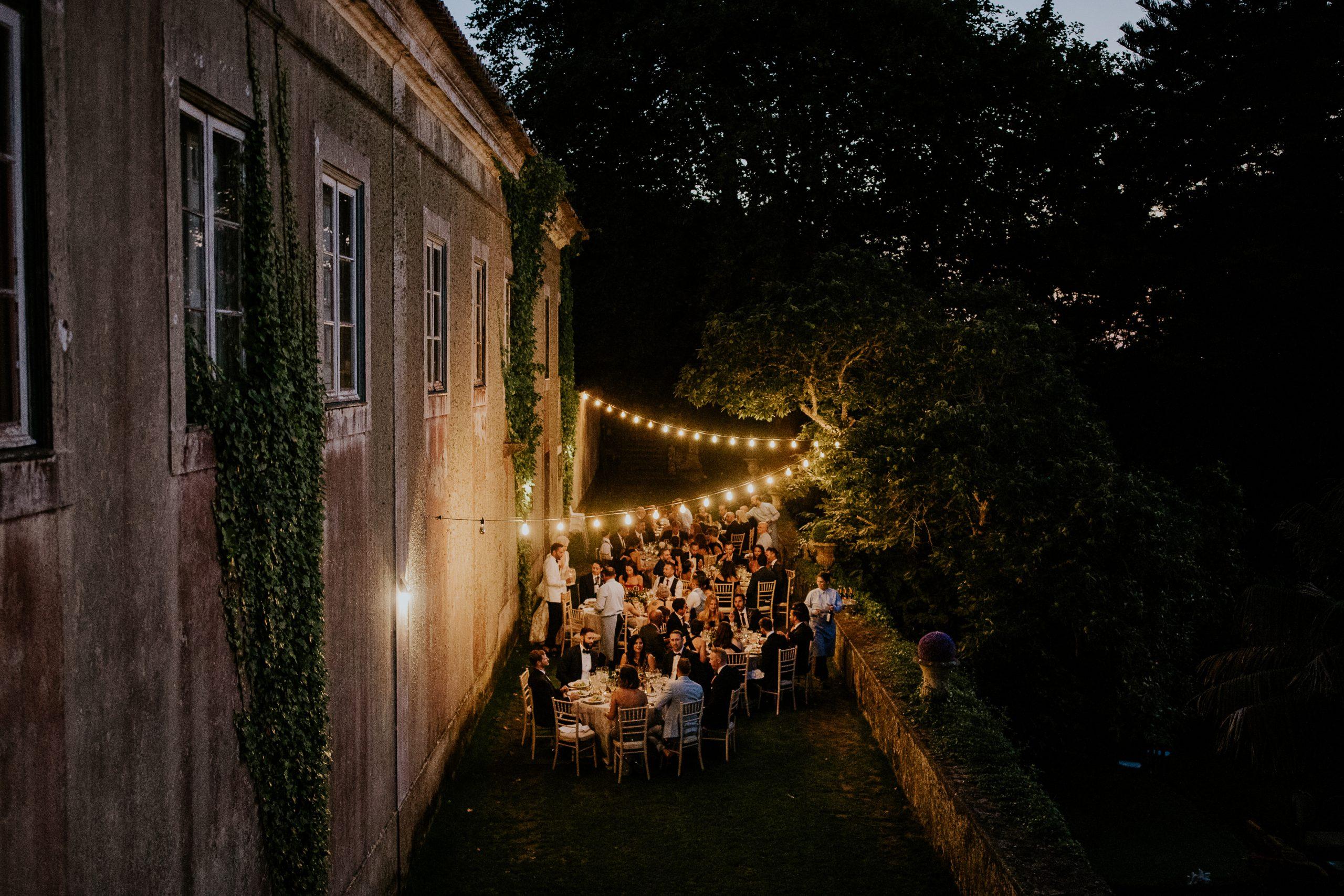 wedding dinner location in sintra